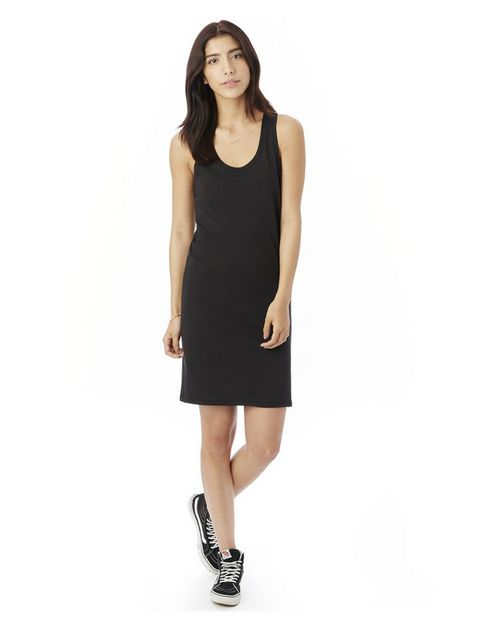 Alternative 2836 Womens Effortless Cotton Modal Tank Dress