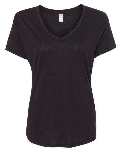 Alternative 2840 Womens Cotton Modal Everyday V-Neck T-Shirt