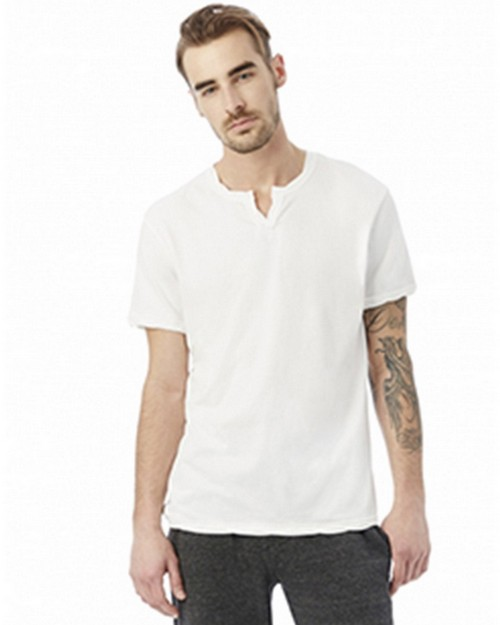 Logo Embroidered Alternative 2879P1 Mens Organic Pima Cotton Moroccan T-Shirt