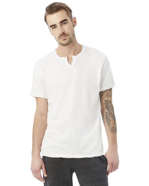 Logo Embroidered Alternative 2879 Moroccan Mens Organic Pima Cotton T-Shirt