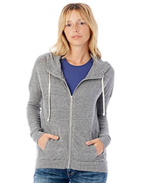 Alternative 2896E1 Cool Down Eco-Jersey Zip Hoodie