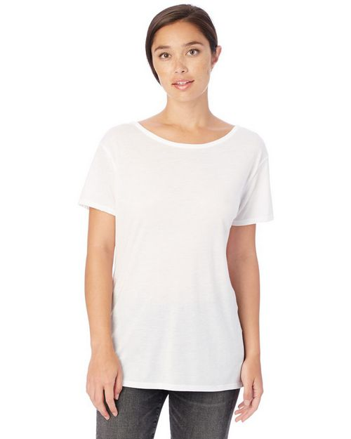 Alternative 3098 Cross Back Tee Shirt