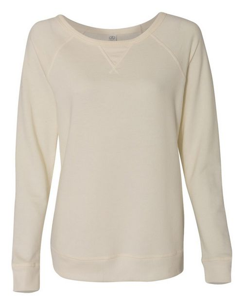 Alternative 5068 Womens Vintage French Terry Scrimmage Pullover Sweatshirt