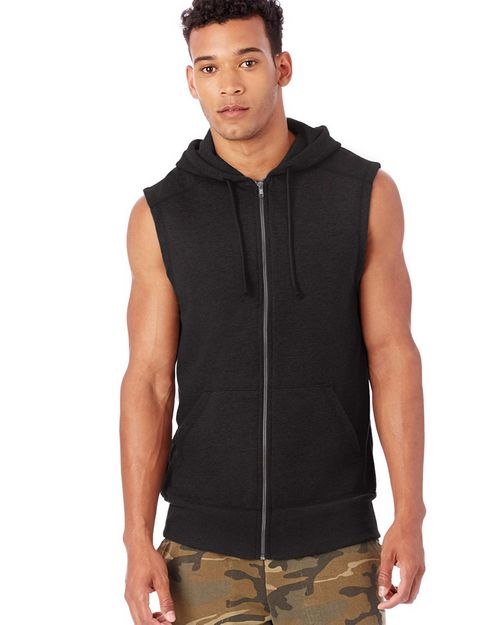 Alternative 5069BT Mens French Terry Warm Up Hoodie