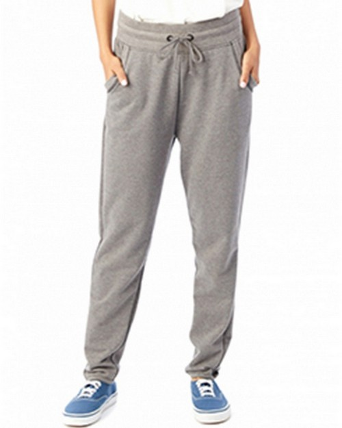 Alternative 5080BT Ladies French Terry Relay Race Pant