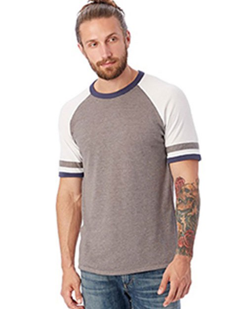 Alternative 5093BP Mens Slapshot Vintage Jersey T-Shirt