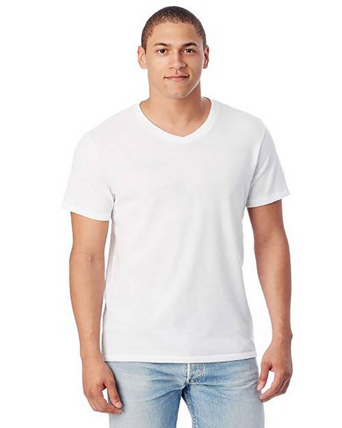 Alternative 5101BP Mens Keeper V-Neck T-Shirt