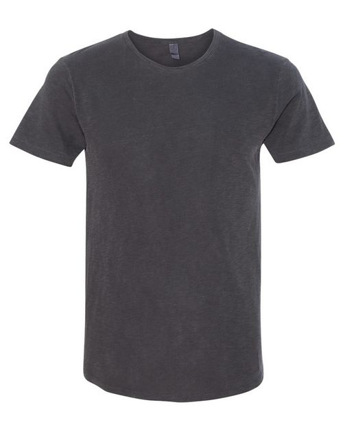 Alternative 61026 Mens Washed Slub Postgame Crewneck T-Shirt