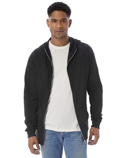 Alternative 7601 Mens Weekender Vintage Heavy Knit Hoodie