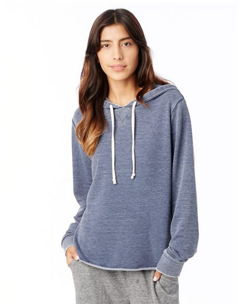 Alternative 8628 Womens Day Off Burnout French Terry Hoodie