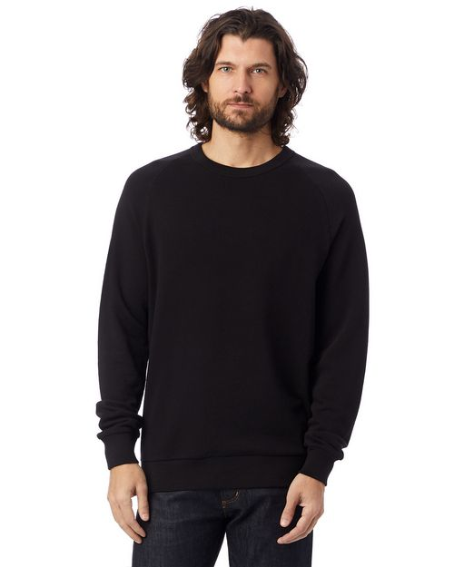 Alternative 9575CT Champ Lightweight Washed French Terry Pullover