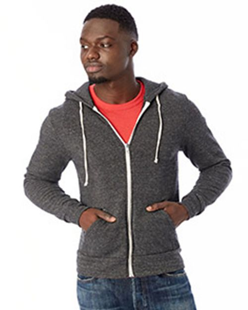 Alternative 9590F Unisex Rocky Eco Fleece Zip Hoodie
