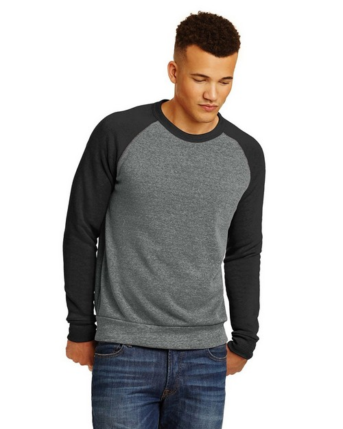 Alternative AA32022 Champ Colorblock Eco-Fleece Sweatshirt