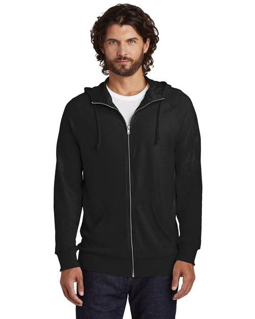Alternative AA7601 Mens Vintage Heavy Knit Weekender Zip Hoodie