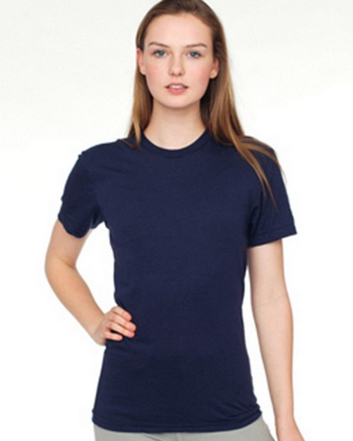 American Apparel 0241AM 50/50 Unisex Crew Neck Tee