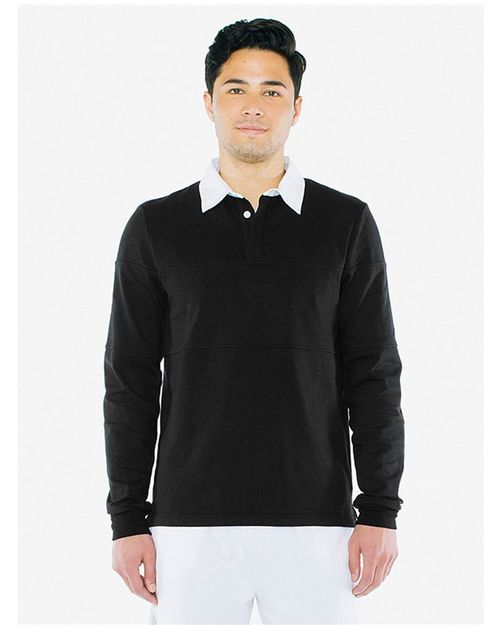American Apparel 14486W Unisex Thick Knit Rugby Team Shirt