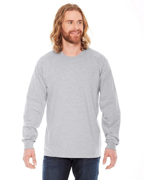 American Apparel 2007 Unisex Fine Jersey Long-Sleeve T-Shirt
