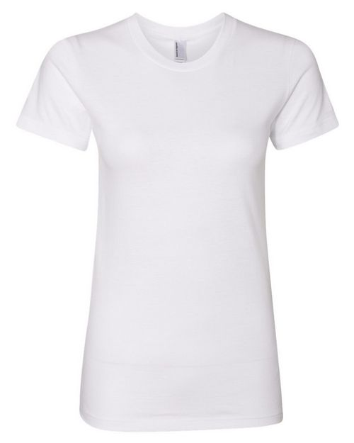 American Apparel 2102US Womens Fine Jersey T-Shirt - USA