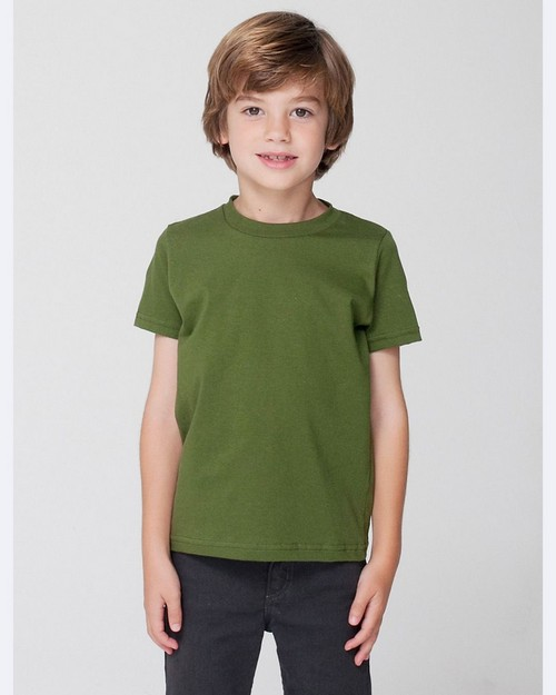 American Apparel 2105 Toddler's Fine Jersey Short-Sleeve T-Shirt