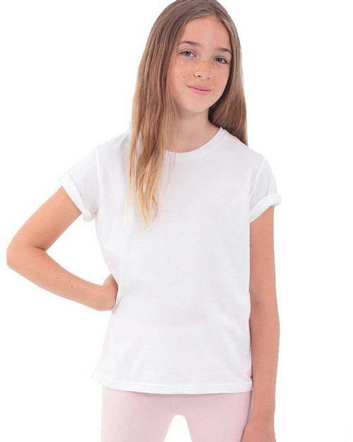 American Apparel 2201ORW Youth Organic Fine Jersey T-Shirt