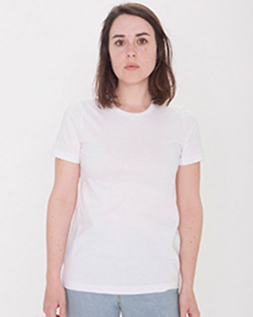 American Apparel 23215OR Ladies Organic Fine Jersey Classic T-Shirt