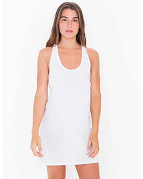 American Apparel 2335W Ladies Fine Jersey Racerback Tank Dress