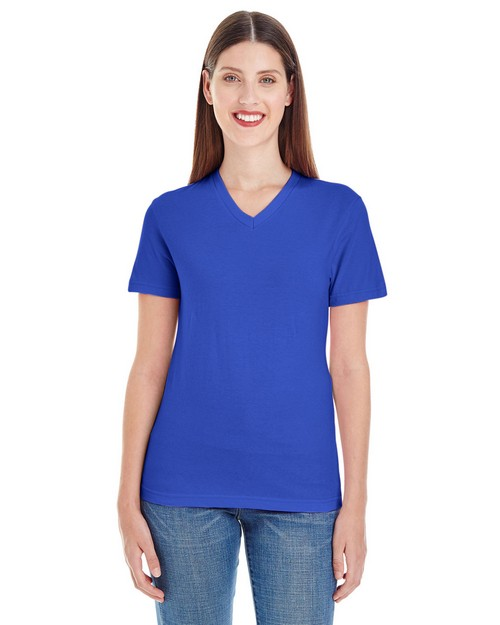American Apparel 2356 Ladies Fine Jersey Classic V-Neck