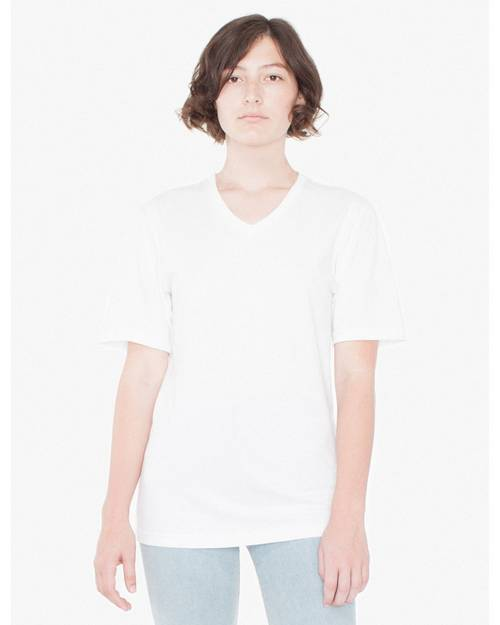 American Apparel 24321OW Unisex Organic Fine Jersey Classic