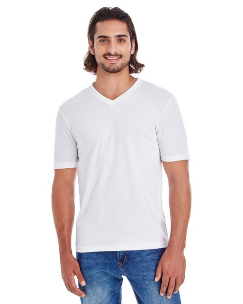 American Apparel 24321 Unisex Fine Jersey Short-Sleeve Classic V-Neck