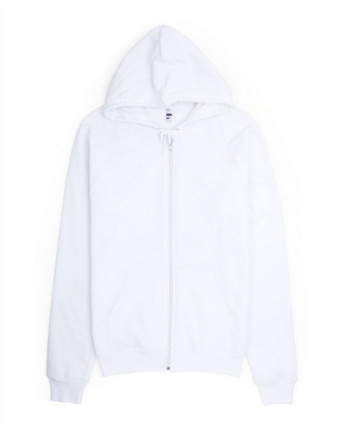 American Apparel 5497 Drop Ship Unisex California Fleece Zip Hoodie