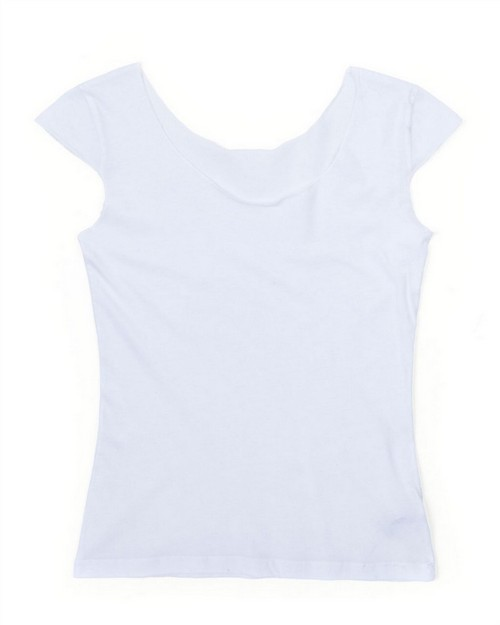 American Apparel 6322 Drop Ship Ladies' Sheer Jersey 2 Sided Top