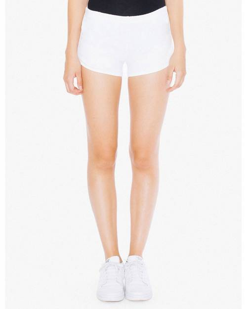 American Apparel 7301W Ladies Interlock Running Shorts