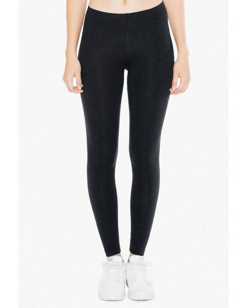 American Apparel 8328W Ladies Cotton Spandex Jersey Leggings