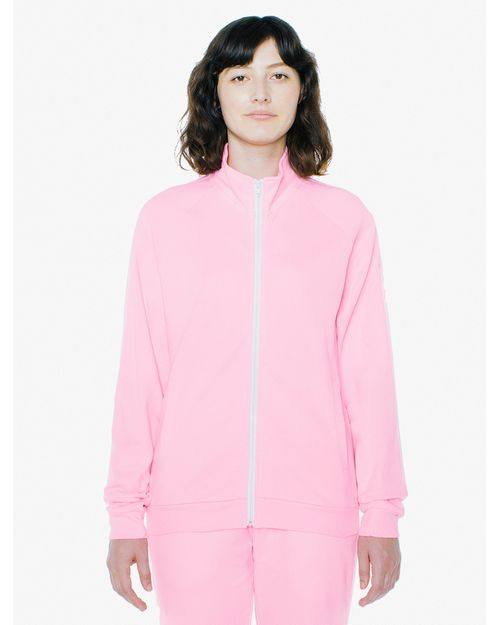 American Apparel A73476W Unisex Interlock Track Jacket