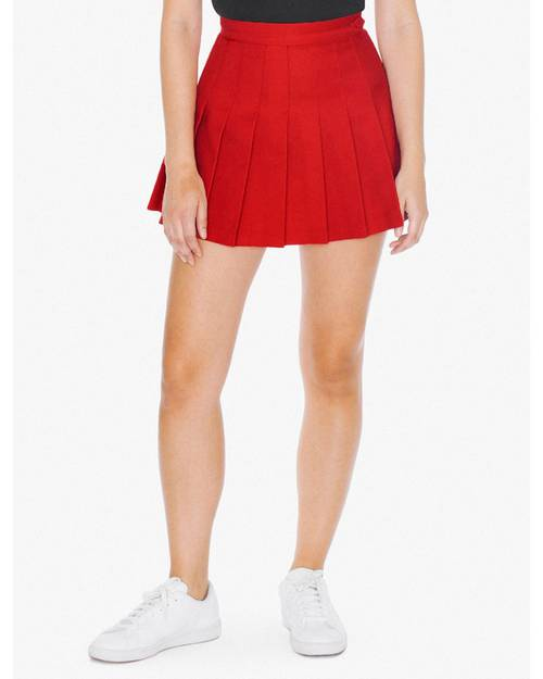 American Apparel Logo Embroidered Tennis Skirt - For Women