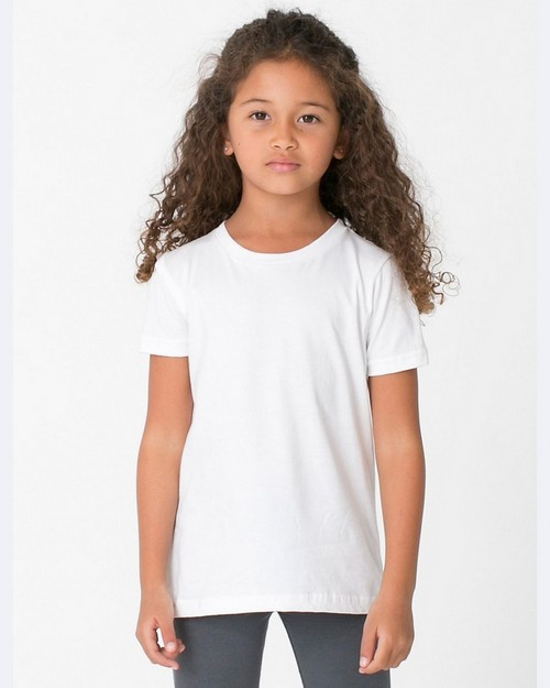 American Apparel BB101 Toddler's Poly-Cotton Short-Sleeve Crewneck