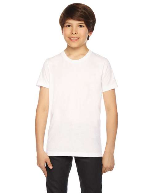 American Apparel BB201W Youth Poly-Cotton T-Shirt
