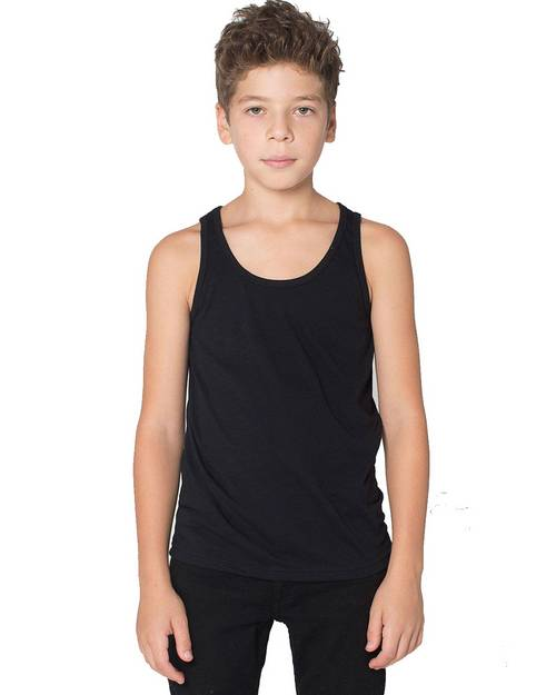 American Apparel BB208W Youth Poly Cotton Tank