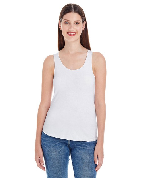 American Apparel BB308 Ladies Poly-Cotton Racerback Tank