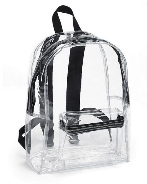 American Apparel PVC501W Vinyl Backpack