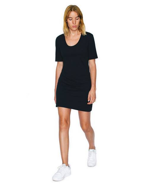 American Apparel Logo Embroidered T-Shirt Dress - For Women