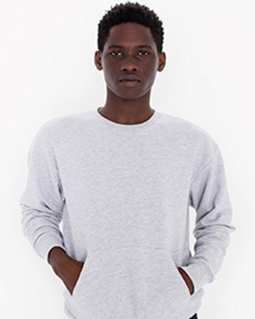 American Apparel SAFS403 Unisex French Terry Pullover with Kangaroo Pocket