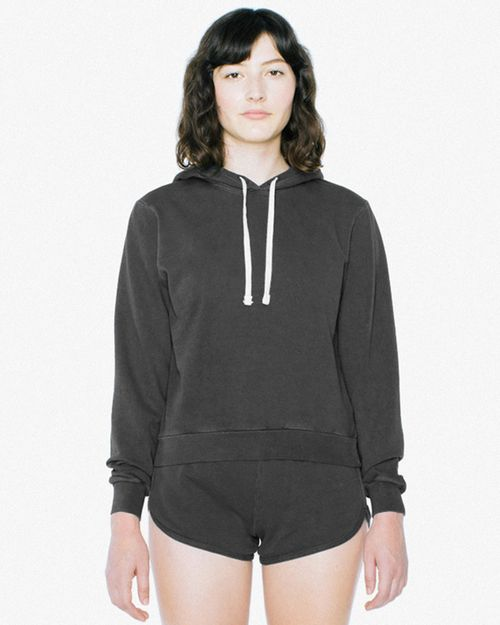 American Apparel TF3350W Ladies Garment-Dyed Mid-Length Sweatshirt