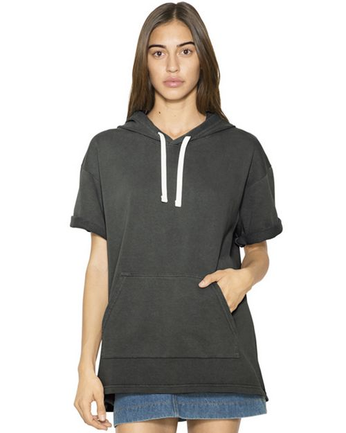 American Apparel TF424W Unisex Garment-Dyed Kangaroo Pocket Sweatshirt