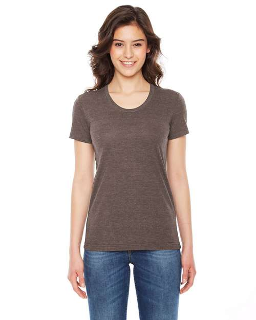 American Apparel TR301W Ladies Triblend Track T-Shirt