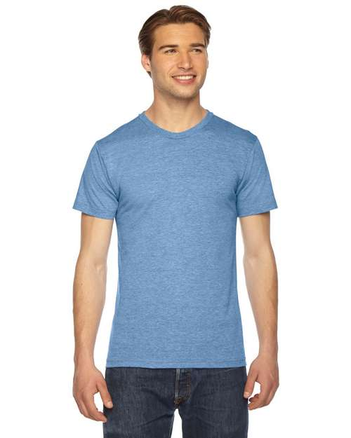 American Apparel Logo Embroidered Triblend Short-Sleeve T-Shirt - Unisex