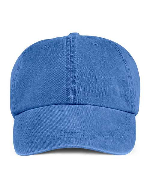 Anvil 145 6-Panel Pigment Dyed Twill Cap