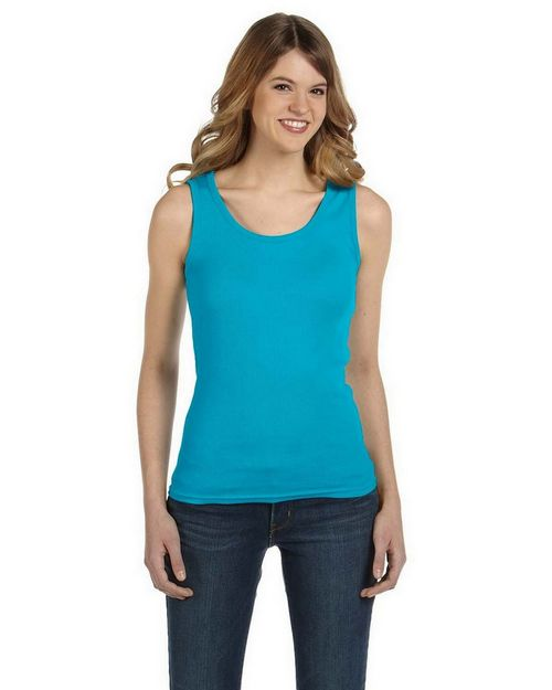 Anvil 2415 Ladies Ringspun 2x1 Rib Tank