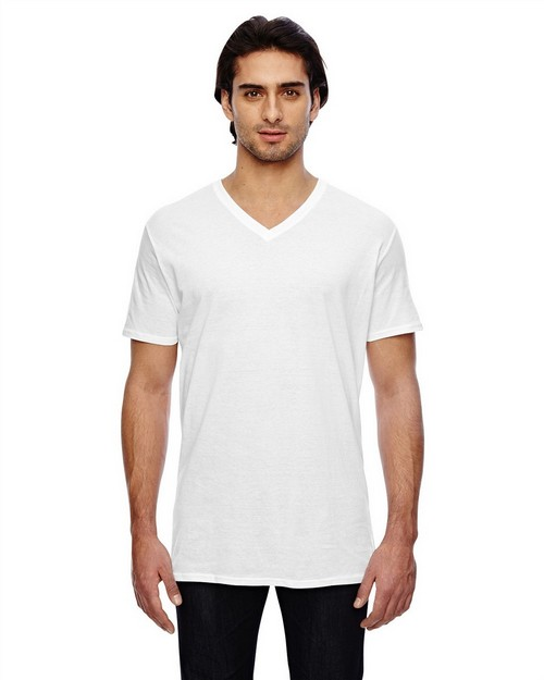 Anvil 352 Featherweight Short-Sleeve V-Neck T-Shirt