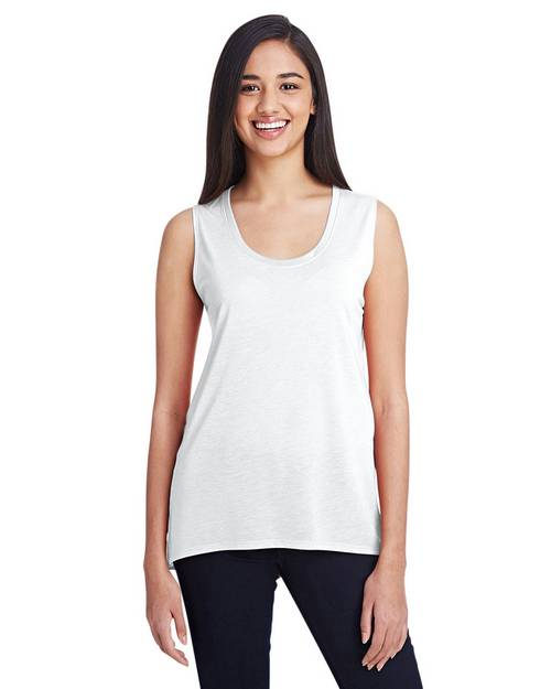 Anvil 37PVL Ladies Freedom Sleeveless T-Shirt